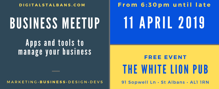 Monthly Meetup #02 [Business] Apps and tools